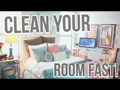 How To Clean Your Room Fast! | Jessica Reid