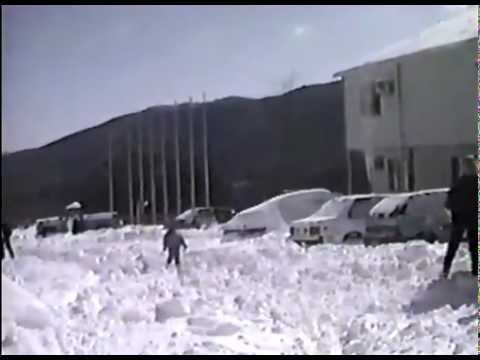 BLIZZARD OF MARCH 1993  -  BOONE  &  BANNER ELK  NC