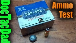 Cor-Bon 115gr 9mm JHP +P - Ammo Test