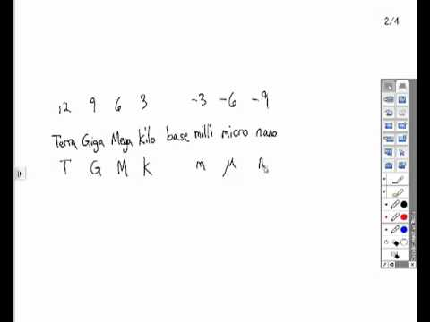engineering notation & metric prefixes