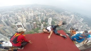 EPIC BASE JUMPING FAIL!!!
