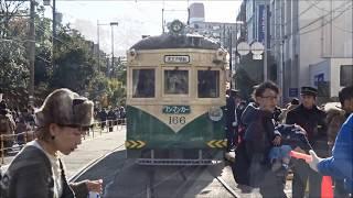 阪堺電車初詣輸送 総力戦2019 住吉