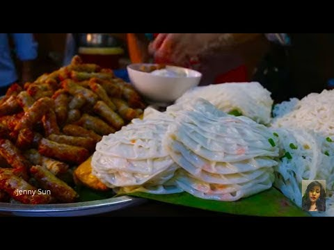 Phnom Penh Street Food - Country Food Compilation Selling In The City - Cambodia (country)