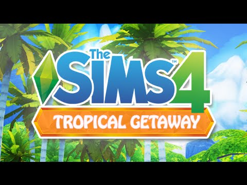 THE SIMS 4 || Tropical Getaway | Beach World ( Mod Review)