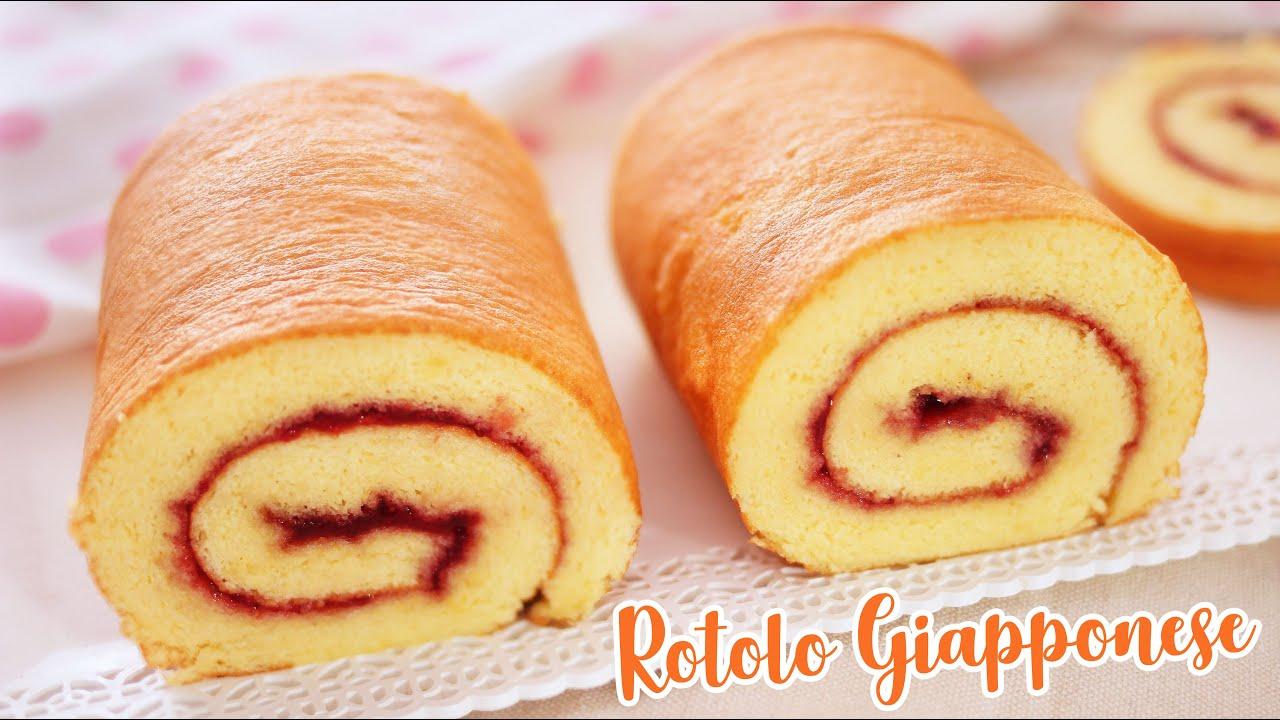 ROTOLO GIAPPONESE Alto e Sofficissimo - Ricetta Facile - Roll Cake