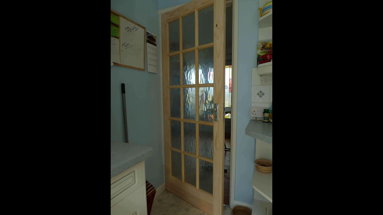 How To Change An Internal Door For A Glazed One.Let More Light Into Your  Rooms And Save Energy