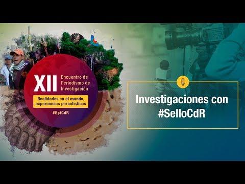 XIIEncuentro2019 -  Investigaciones con #SelloCdR