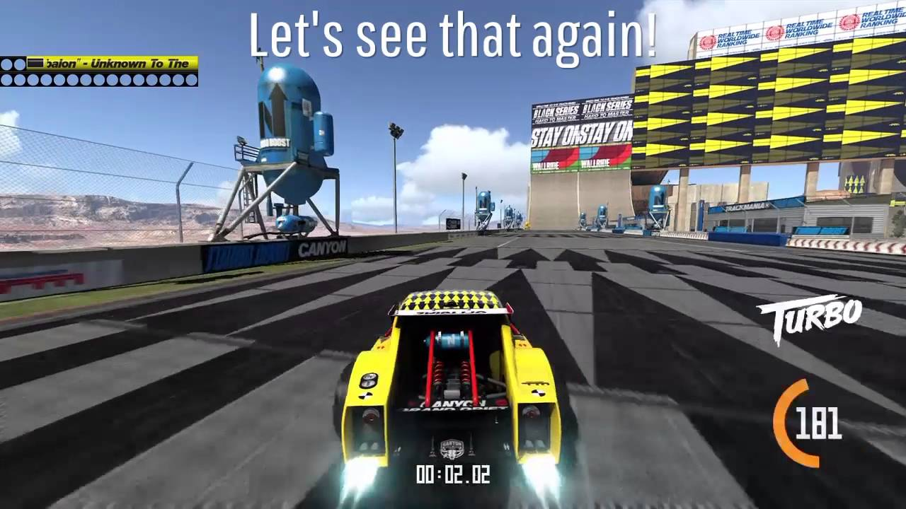 trackmania turbo map editor is awesome youtube. Black Bedroom Furniture Sets. Home Design Ideas