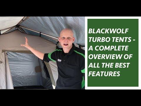 Blackwolf Turbo 240 Lite Tent Walkthrough Features Benefits Explained Youtube