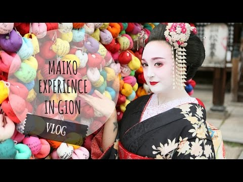 Vlog Giappone | MAIKO EXPERIENCE IN GION