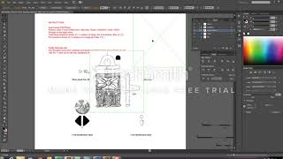 How to page up your finds drawings in Adobe Illustrator