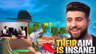 REACTING to the BEST Aimers in Fortnite!