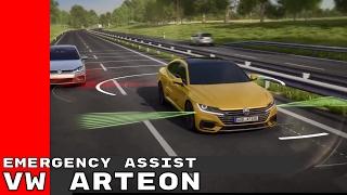 VW Arteon Emergency Assist