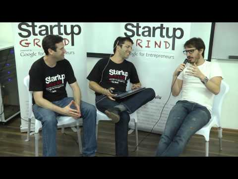 Moshe Hogeg (Mobli Media) at Startup Grind Tel Aviv - 21 Oct, 2014