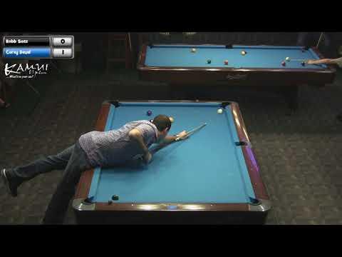 .: Texas Open 9 Ball 2012 -- Robb Saez vs. Corey Deuel (Part 1) :.
