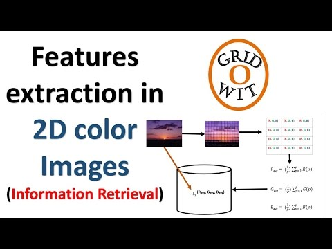 Feature Extraction in 2D color Images (Concept of Search by Image) || Gridowit