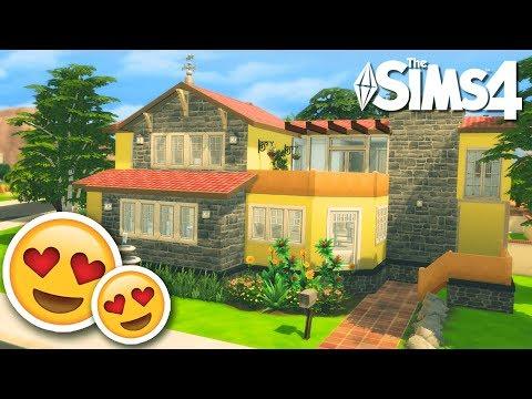 Hermosa casa familiar 😍🏠✌🏻 Los Sims 4 Speed Build
