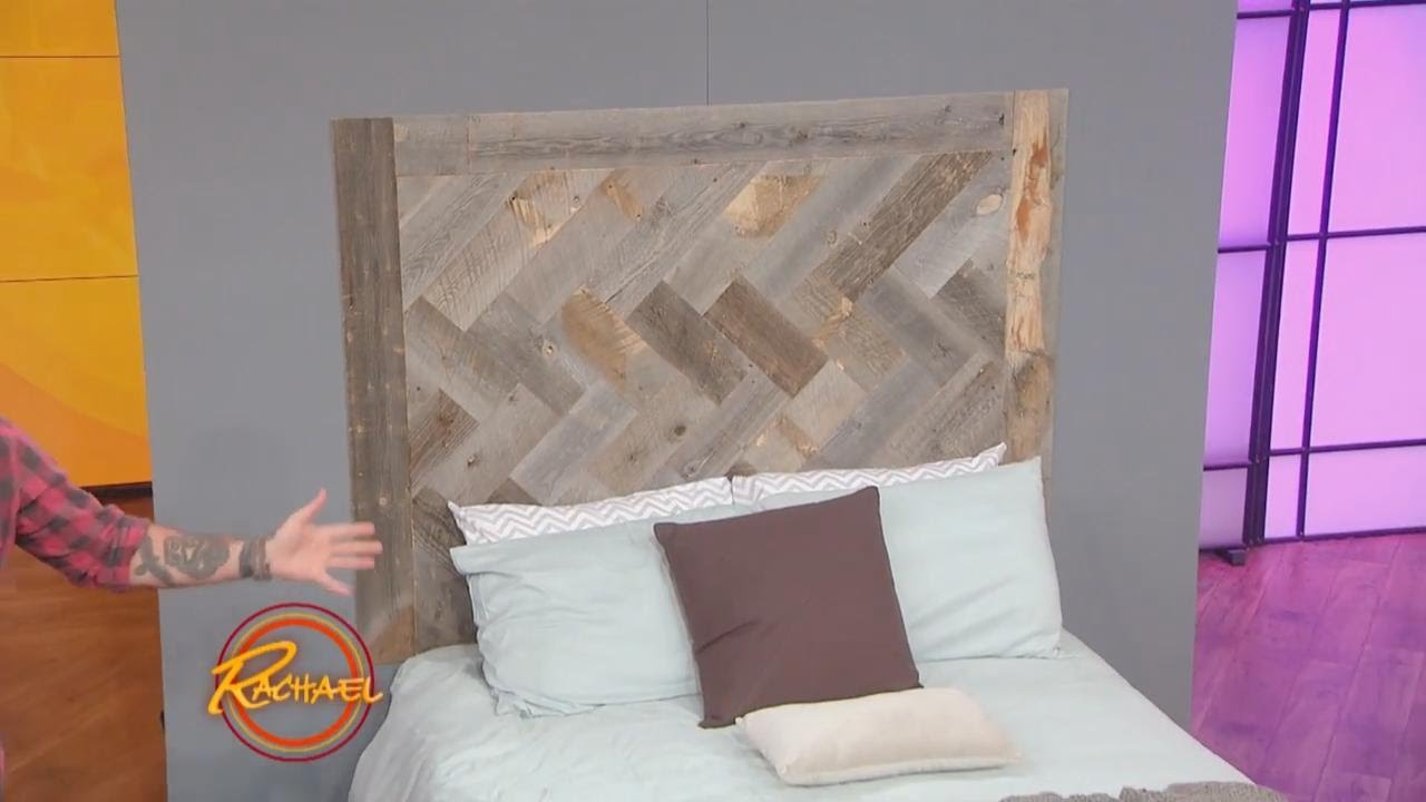 How To Make This Gorgeous Diy Headboard Out Of Reclaimed