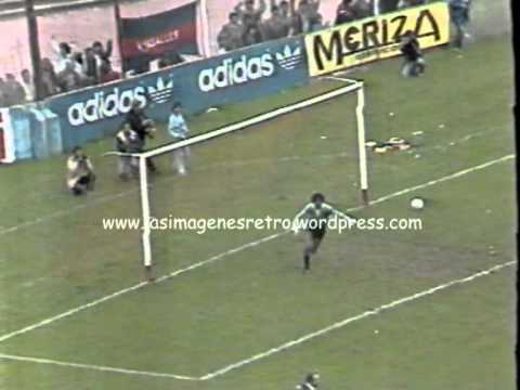 San Lorenzo 1 - Racing (Cba) 0 (1987)