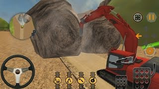 Trucks for Kids| Hill Cutter Excavator|  ✓Cartoon Movie 2016