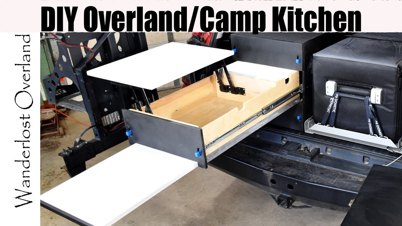 Diy Drawer System Build For Overlanding Camping Save Big Money By Building Your Own Youtube