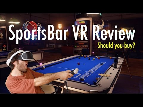 SportsBar VR Review PlayStation VR
