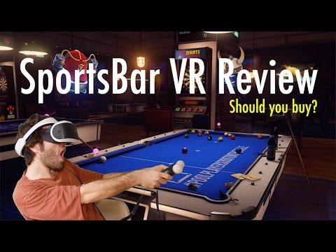 SportsBar VR Review PlayStation VR