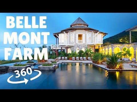 Belle Mont Farm On St Kitts Nevis in 360 / VR!