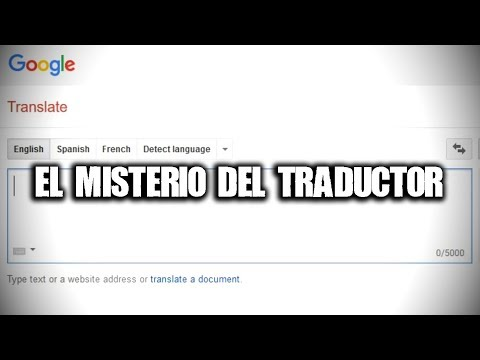 El misterio del traductor
