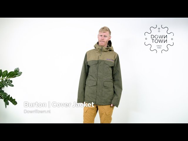 [EN] Burton Covert Jacket 2020 jacket review - DownTown.nl