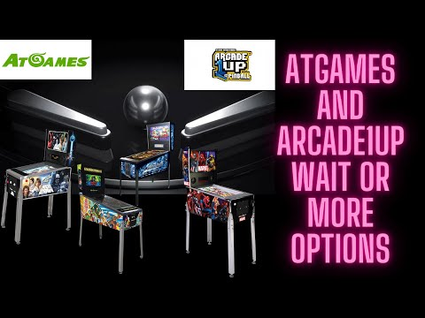 AtGames and Arcade1up waiting game for Virtual Pinball, or is their more options. from Ur Average Gamer