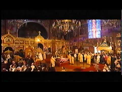 Vigil service, glorification of St. John of SF