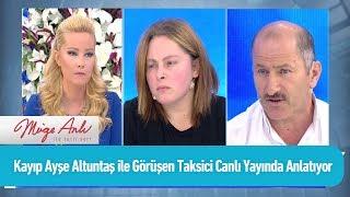 Kayıp Ayşe Altuntaş ile görüşen taksici canlı yayında - Müge Anlı ile Tatlı Sert 5 Eylül 2019