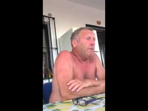 Man telling a dyslexic Cinderella story funniest thing ever for more great videos www.fb.com/TDanP