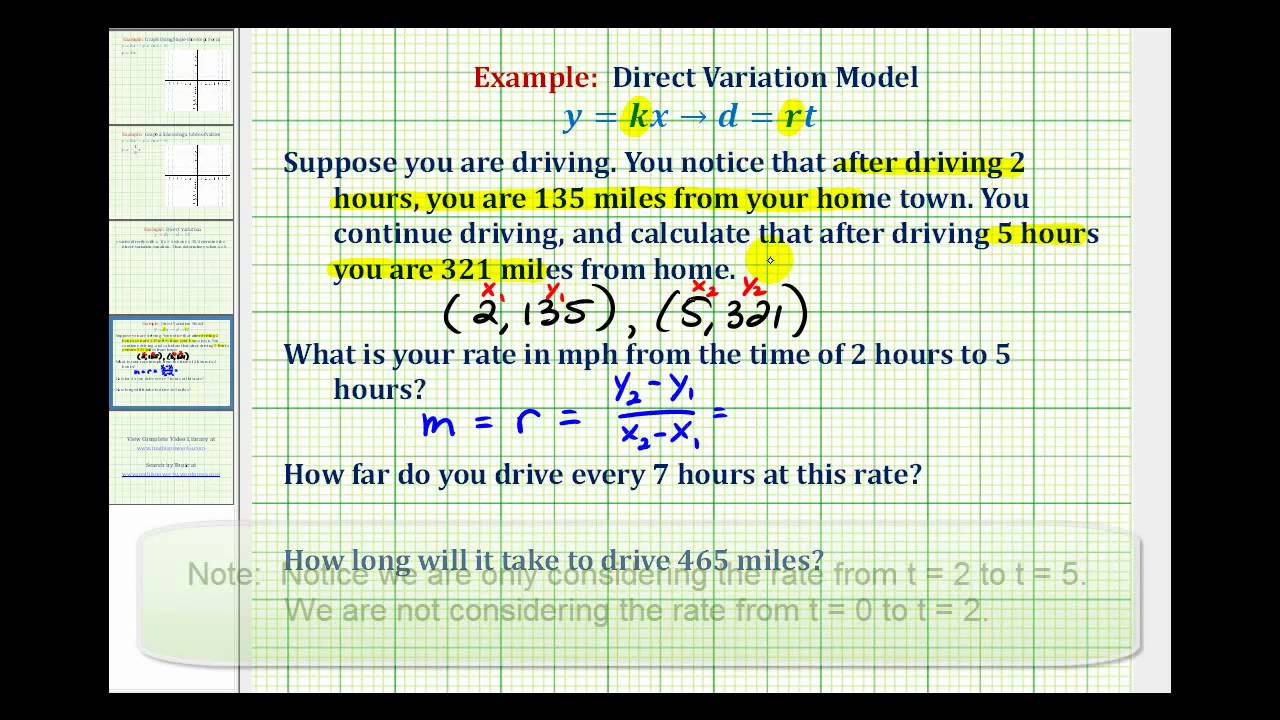 how to find distance rate and time