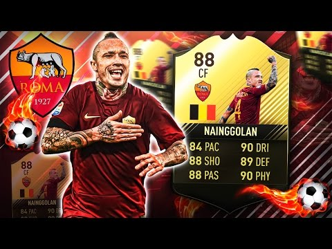 TIF NAINGGOLAN THE LONGSHOT KING! WHY IS HE OVER A 1,000,000? FIFA 17 ULTIMATE TEAM