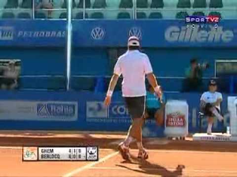 ATP 2011 Costa do Sauipe R1 Ghem vs Berlocq