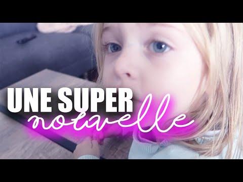 [VLOG] UNE SUPER NOUVELLE POUR VOUS !