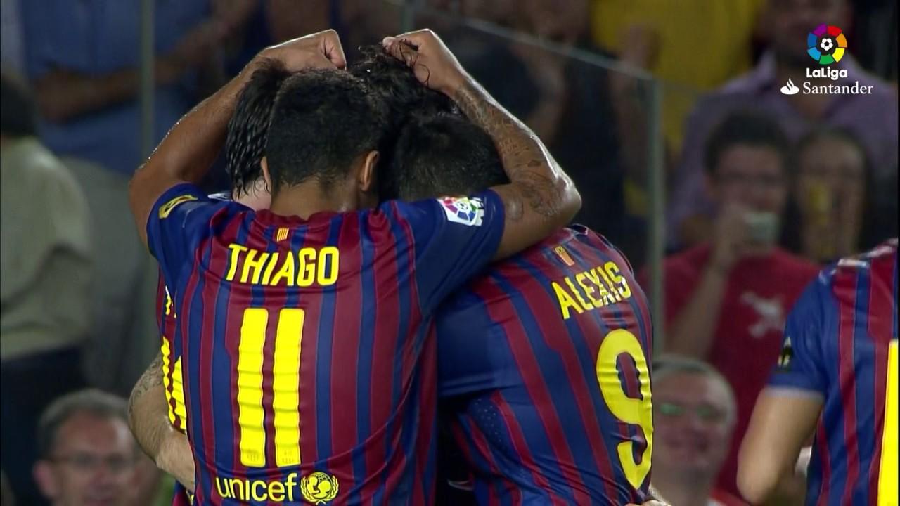 Download Resumen de FC Barcelona vs Villarreal CF (5-0) 2011/2012
