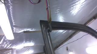 как сделать покрасочную камеру в гараже