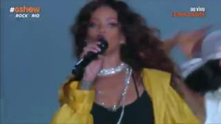 Rihanna  - Pour It Up/Bitch Better Have My Money (Rock In Rio 2015) @ardilatifi