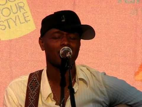 Javier Colon covers Coldplay's Fix You  at Deer Park, NY on July 9, 2011