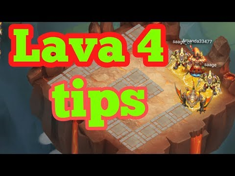 Castle Clash My Tips For Lava 4 Success!!!!!