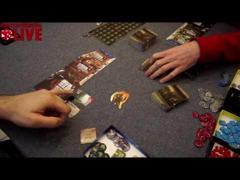 Brettspielblog.net LIVE: 51st State Masterset deutsch & Dungeon Time