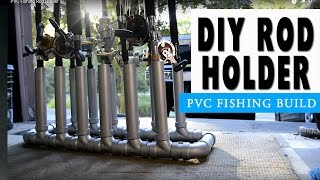 Pvc Fishing Rod Holder