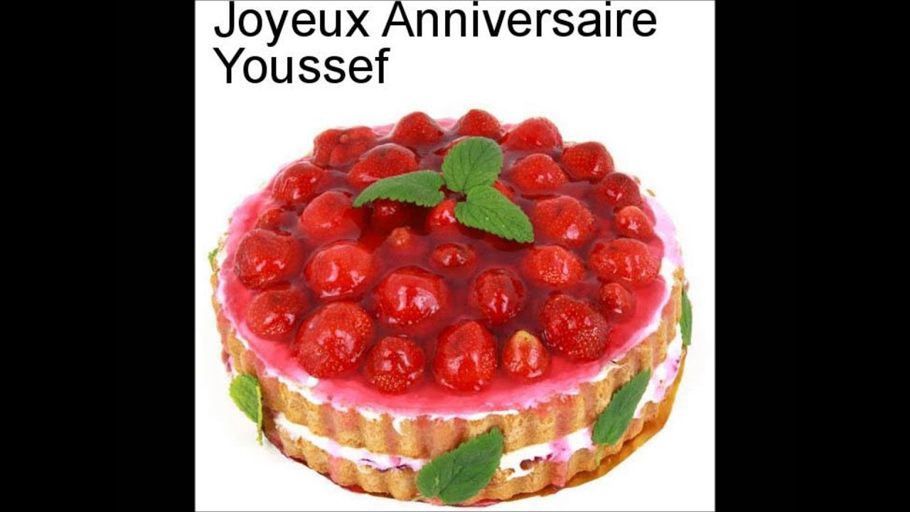 bon anniversaire youssef
