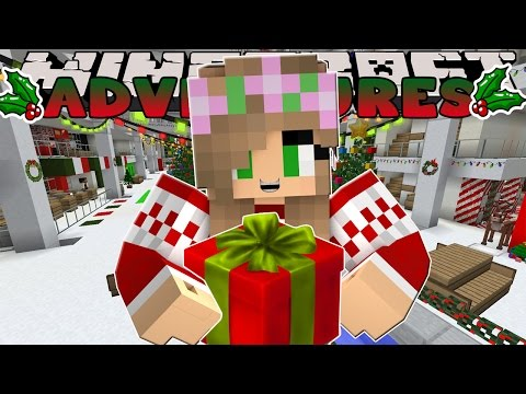 Minecraft-Little Kelly Adventures- SHOPPING FOR CHRISTMAS PRESENTS!