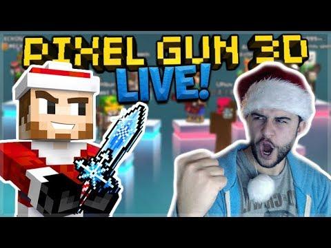 [LIVE] SUBSCRIBERS BATTLES! CHRISTMAS TEAM FIGHTS! | Pixel Gun 3D