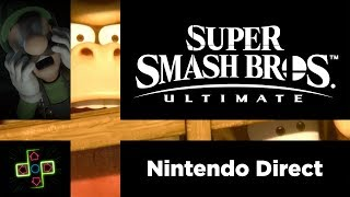 KING OF FIGHTERS - Rick reacts to the Super Smash Bros. Ultimate Direct
