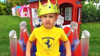 Roma wants to be King! Funny children's story
